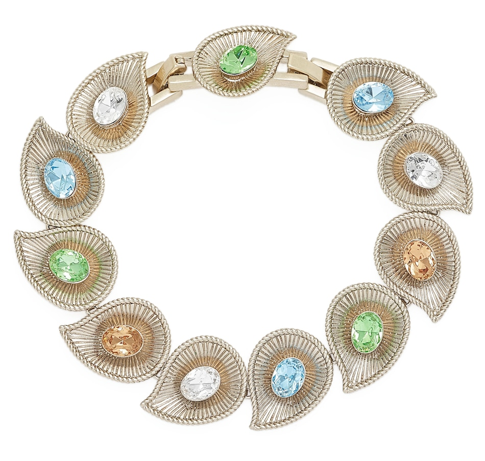Image 546173.jpg , Product 546-173 / Price $39.99 , Grace Kelly - Princess of Monaco Collection Chip and Swirl Bracelet from Grace Kelly - Princess of Monaco Collection on TSC.ca's Jewellery department