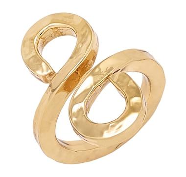 Alchemía by Charles Albert Adjustable Swirl Ring