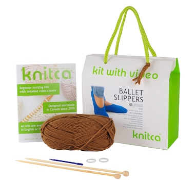 Knitca Ballet Slipper Kit