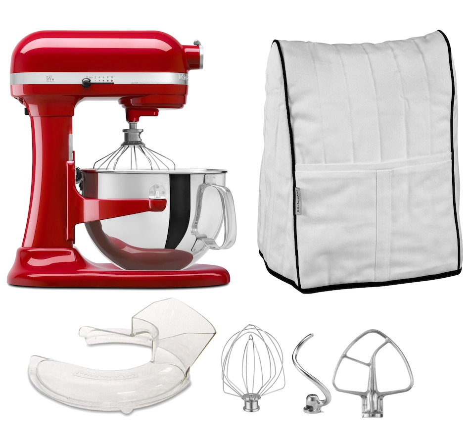 Image 547380_EMRD.jpg , Product 547-380 / Price $799.99 , KitchenAid Pro 600 Bowl-Lift Stand Mixer and Cover from KitchenAid on TSC.ca's Kitchen department