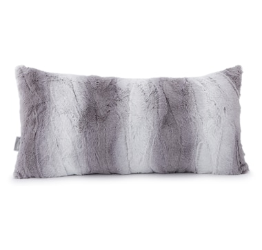 "Guillaume Luxe Faux Fur 12"" x 24"" Pillow"