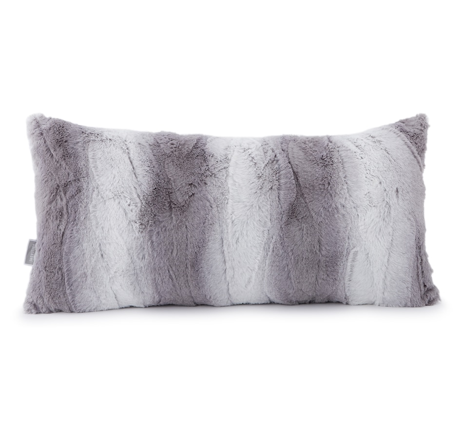 "Image 547476_SIL.jpg , Product 547-476 / Price $19.88 , Guillaume Luxe Faux Fur 12"" x 24"" Pillow from Guillaume Home on TSC.ca's Home & Garden department"