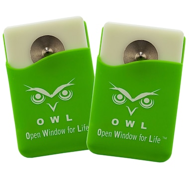 Owl Window Breaker with Seat-Belt Cutter (2-Pack)