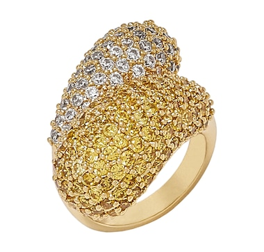 Kathy Levine Jewellery Domed Bypass Ring