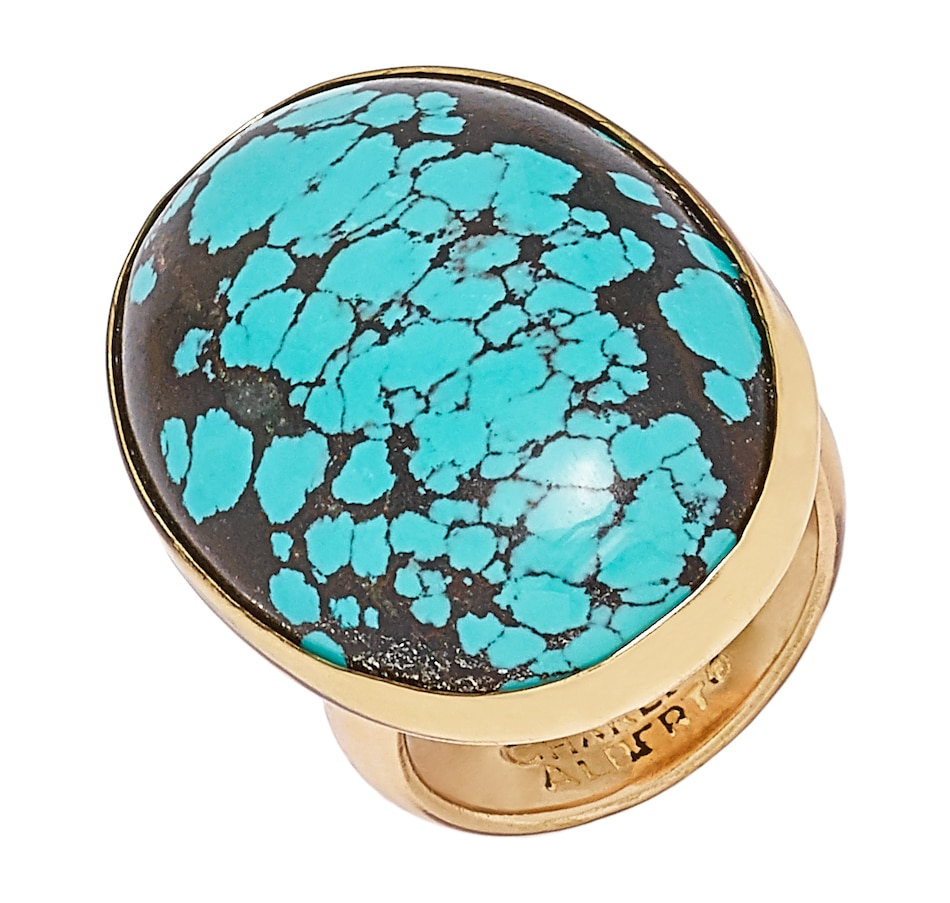 Image 548665.jpg , Product 548-665 / Price $50.33 , Alchemia by Charles Albert Turquoise Adjustable Ring from Alchemia by Charles Albert on TSC.ca's Jewellery department