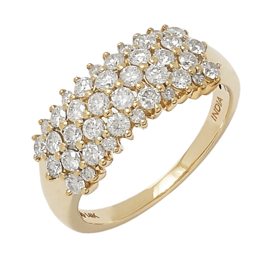 Image 549188_YGL.jpg , Product 549-188 / Price $1,699.99 , 14K Gold 1.00 Carat Diamond Ring from Diamond Show on TSC.ca's Jewellery department