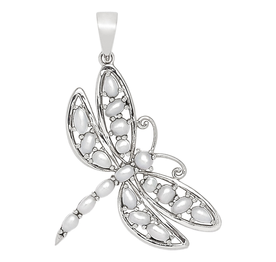 Image 549800_DFWPR.jpg , Product 549-800 / Price $39.33 , Himalayan Gems Sterling Silver Jewelled Wing Pendant Collection from Himalayan Gems on TSC.ca's Jewellery department