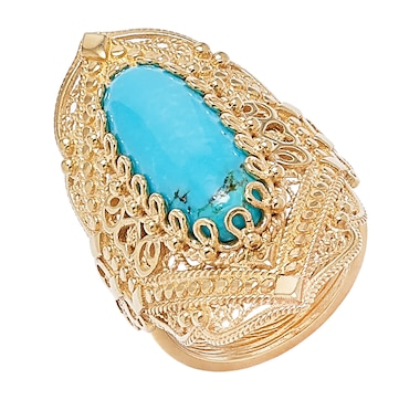 Jewellery of the Grand Bazaar Turquoise Ring