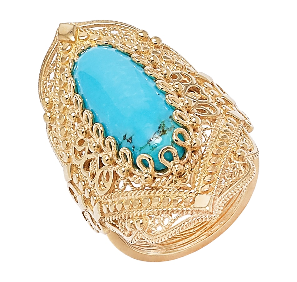 Image 550580.jpg , Product 550-580 / Price $59.33 , Jewellery of the Grand Bazaar Turquoise Ring from Jewellery of the Grand Bazaar on TSC.ca's Jewellery department