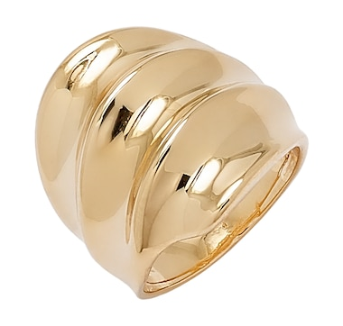 Bronzoro Italia Wide Fan Ring