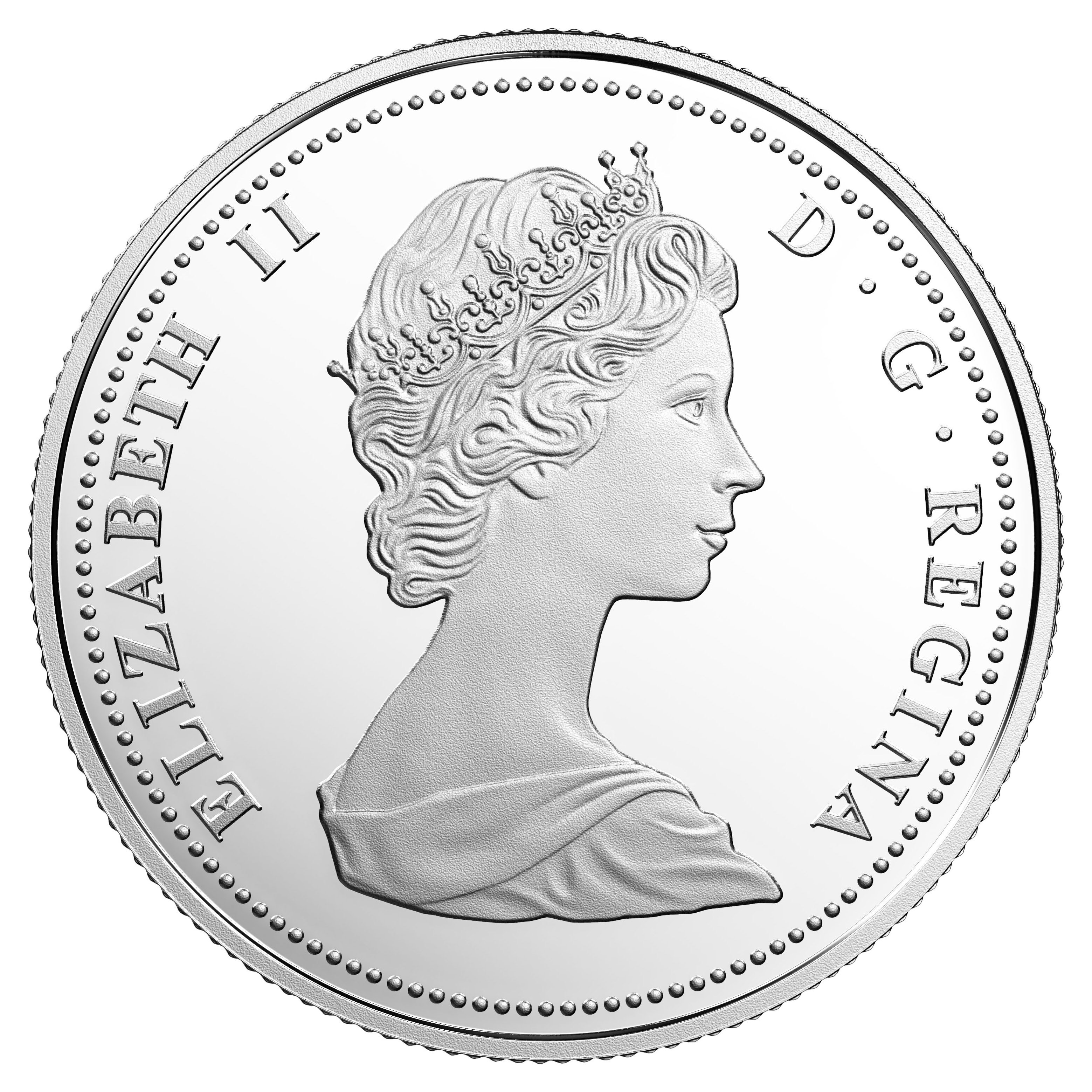 CANADA 1967-2017 5 CENTS 99.99/% PROOF SILVER CENTENNIAL NICKEL COIN
