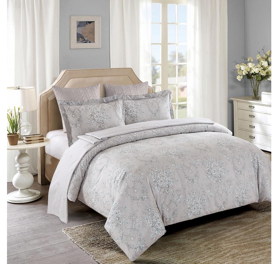 Image 551243.jpg , Product 551-243 / Price $109.33 , Oceana Home by Mera Linens Nottingham Duvet Cover Set from Mera Linens on TSC.ca's Home & Garden department