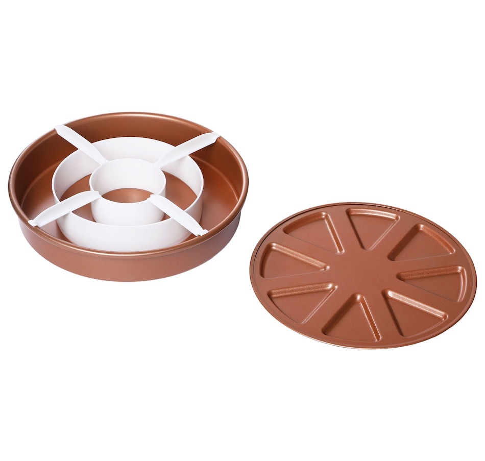 Image 551372.jpg , Product 551-372 / Price $16.99 , Copper Chef Perfect Cake Pan from Copper Chef on TSC.ca's Kitchen department
