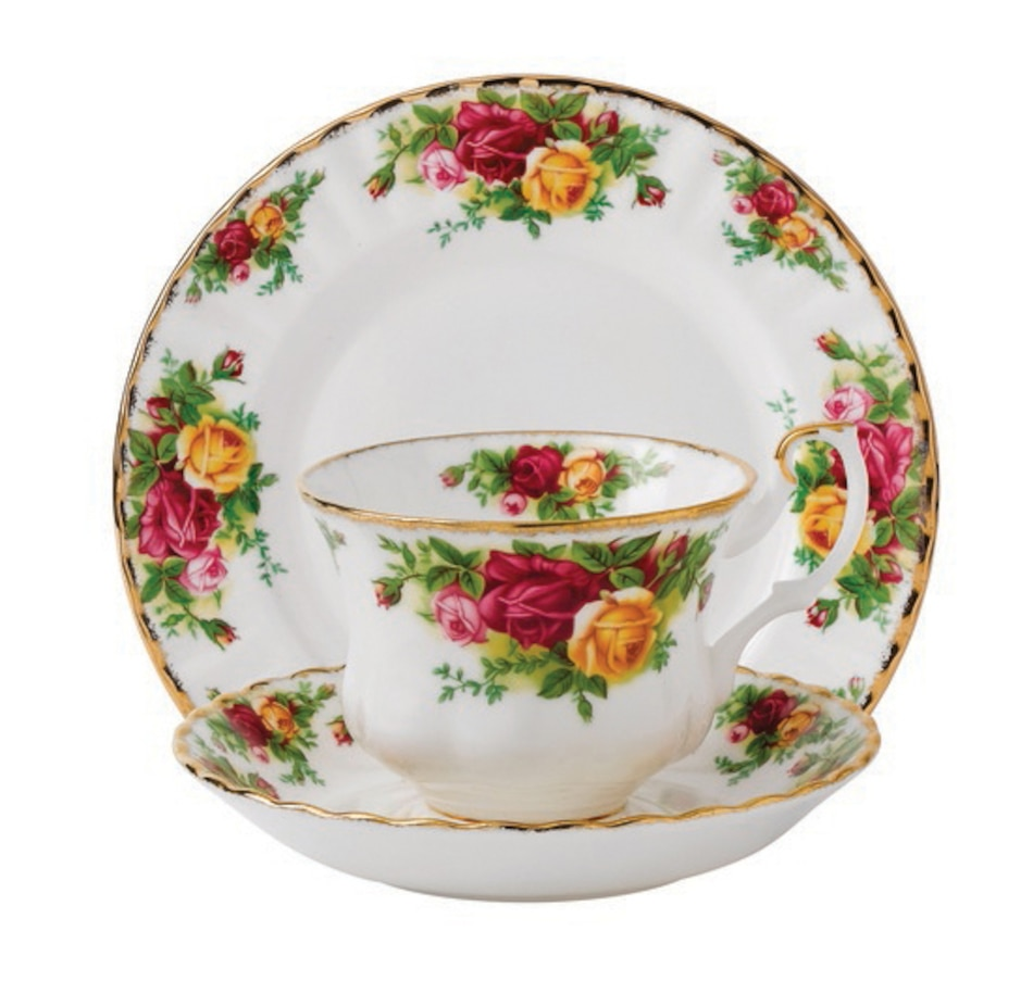 Image 551387.jpg , Product 551-387 / Price $59.88 , Royal Albert Old Country Roses 3-Piece Set from Royal Albert on TSC.ca's Kitchen department