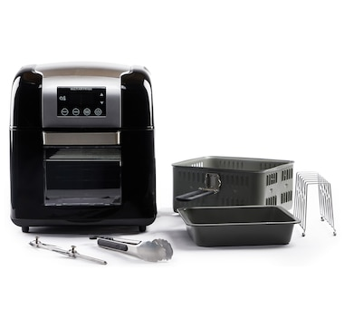 Todd English 1500W 9.8-Quart Multifunction Digital Air Fryer and Rotisserie