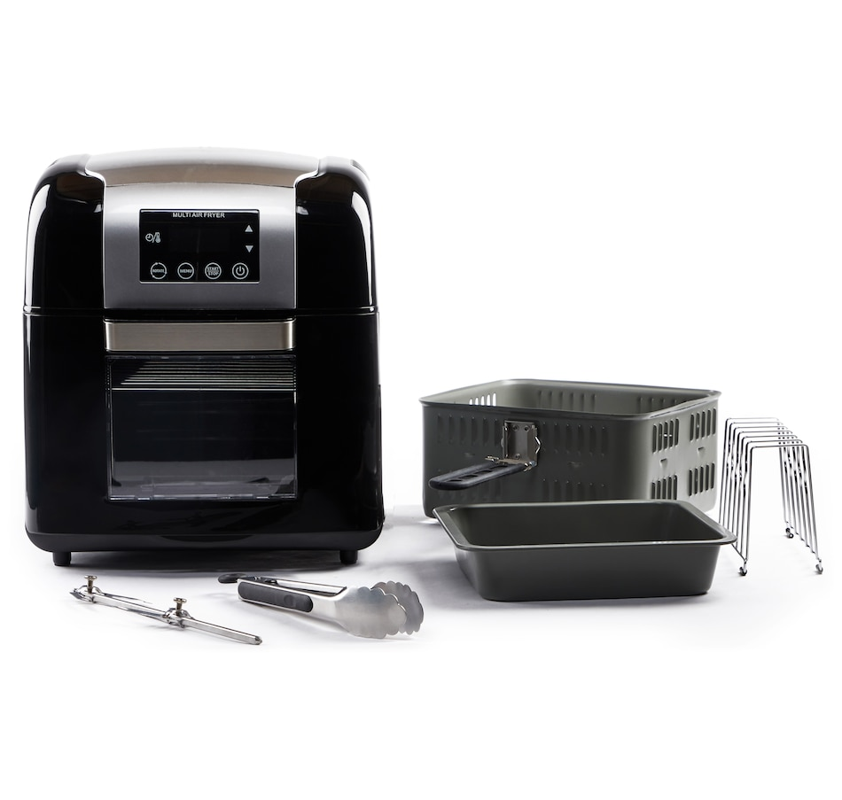 Image 551465_BLK.jpg , Product 551-465 / Price $149.88 , Todd English 1500W 9.8-Quart Multifunction Digital Air Fryer and Rotisserie from Todd English on TSC.ca's Kitchen department