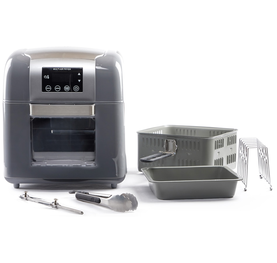 Image 551465_SIL.jpg , Product 551-465 / Price $279.00 , Todd English 1500W 9.8-Quart Multifunction Digital Air Fryer and Rotisserie from Todd English on TSC.ca's Kitchen department