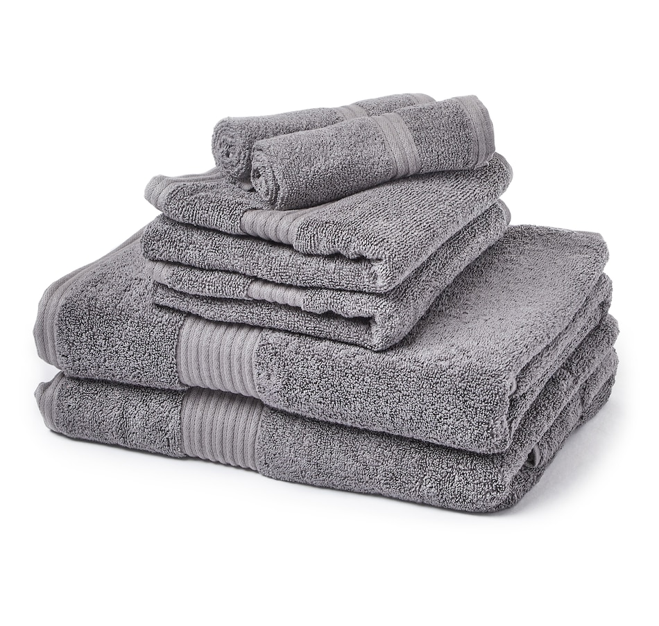 Image 551489_DGR.jpg , Product 551-489 / Price $79.99 , HomeSuite Tencel Cotton 6-Piece Towel Set from HomeSuite Collection on TSC.ca's Home & Garden department