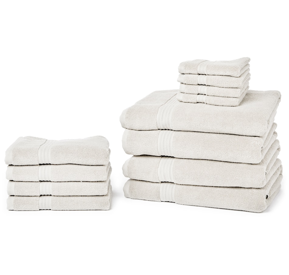 Image 551608_HAZ.jpg , Product 551-608 / Price $149.99 , HomeSuite Soft Plush Turkish Cotton 12-Piece Towel Set from HomeSuite Collection on TSC.ca's Home & Garden department