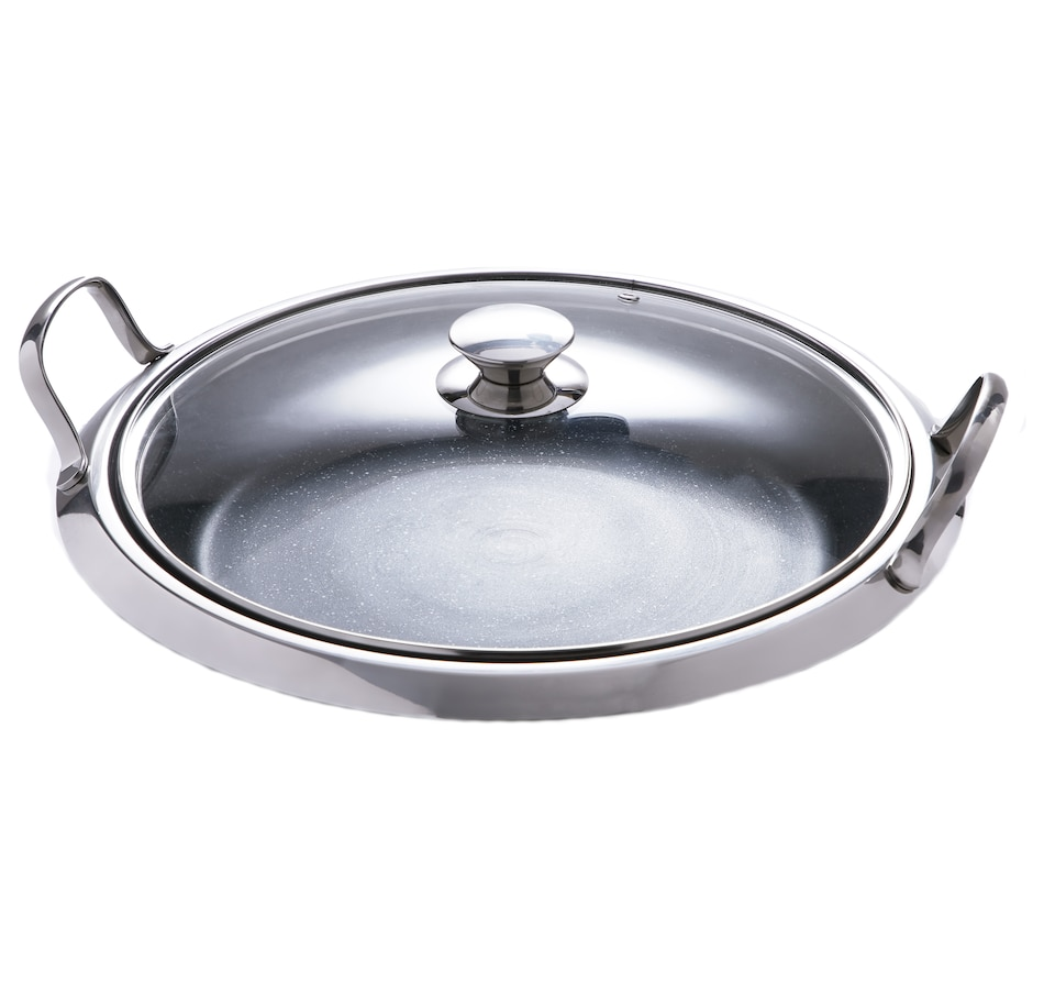 """Image 551617.jpg , Product 551-617 / Price $44.88 , Curtis Stone Dura-Pan Non-Stick 14"""" Deep Multipurpose Pan from Curtis Stone on TSC.ca's Kitchen department"""