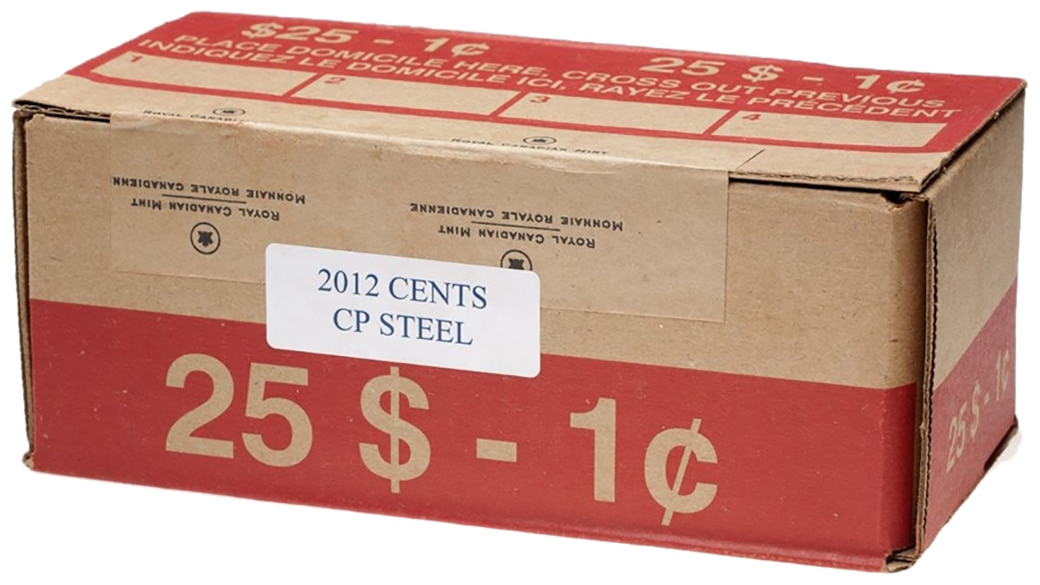 Brilliant Uncirculated 2012 Canada Old Style 1 Dollar From Mint/'s Roll
