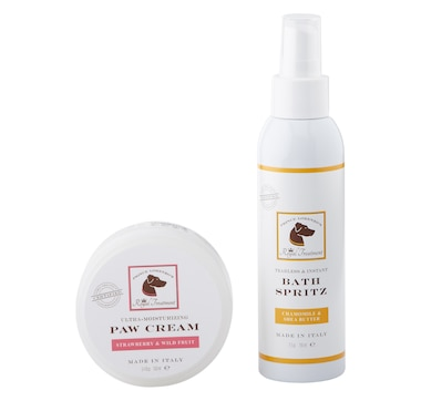 Royal Treatment Pet Spa 5 oz. Spritz and 3 oz. Paw Cream Set