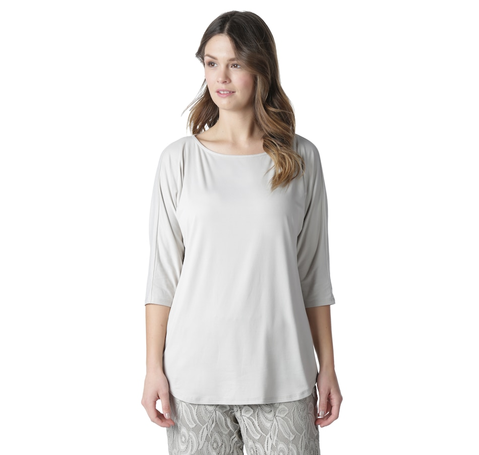 Image 551852_BGE.jpg , Product 551-852 / Price $29.88 , Guillaume Home Luxe Jersey Top with Dolman Sleeve from Guillaume on TSC.ca's Home & Garden department