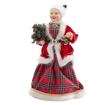 Holiday Memories Mrs. Claus Figurine
