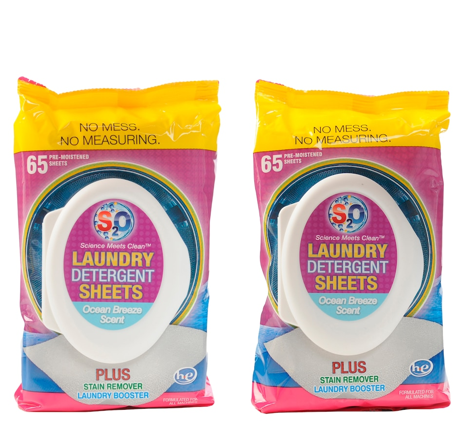Image 552052_OCBR.jpg , Product 552-052 / Price $10.33 , S20 Laundry Sheets 2-Pack (65 Sheets per Pack) from S2O on TSC.ca's Home & Garden department
