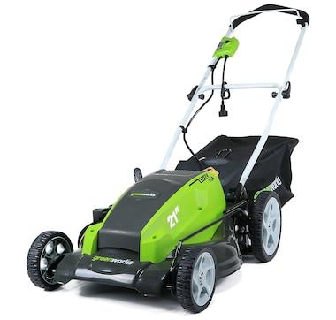 "Greenworks 13-Amp 21"" 3-in-1 Push Mower"