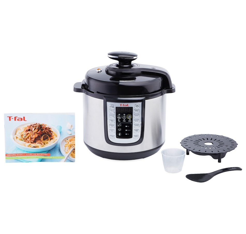 Image 552109.jpg , Product 552-109 / Price $139.99 , T-fal 25-in-1 Electric Pressure Cooker (6 Quarts) from T-Fal on TSC.ca's Kitchen department