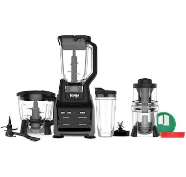 Ninja Intelli-Sense Kitchen System: Blender, Processor, Single Serve Blender and Spiralizer
