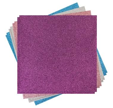"Cricut Glitter Iron-On Jewels Pack 12"" x 12"" (8 sheets)"