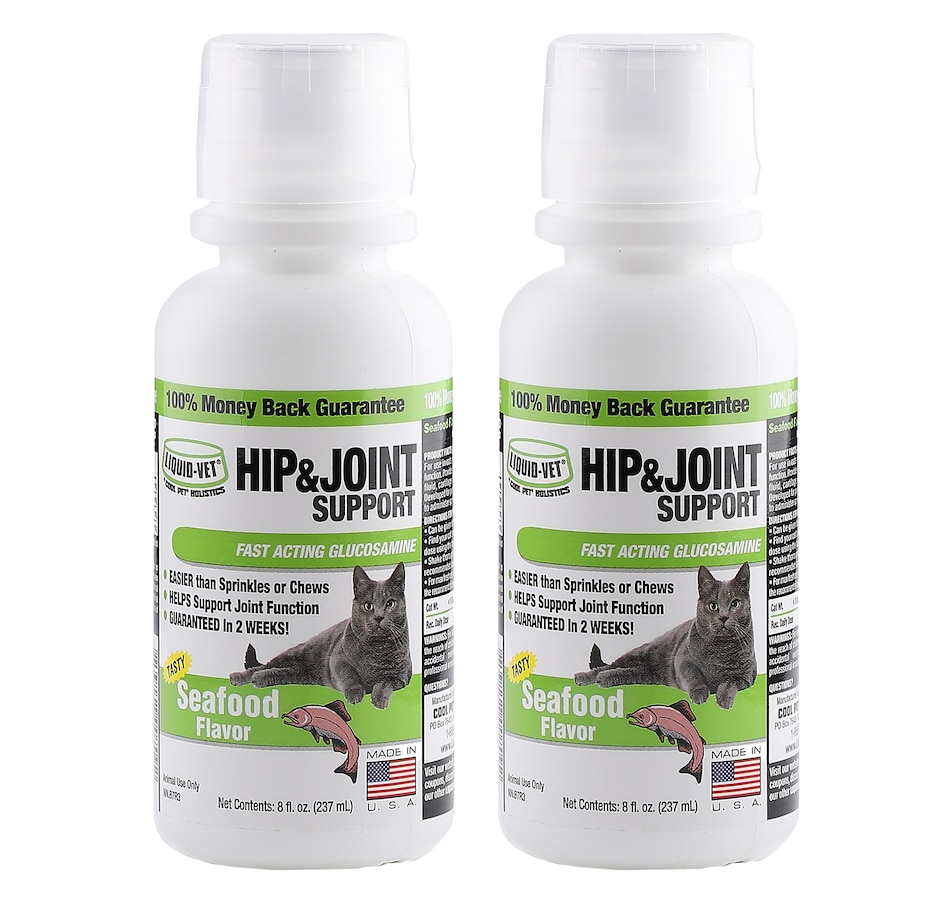 Image 552431_SEAFD.jpg , Product 552-431 / Price $31.99 , Liquid-Vet Feline Hip & Joint Support  Formula - 2-Pack from Liquid-Vet on TSC.ca's Home & Garden department