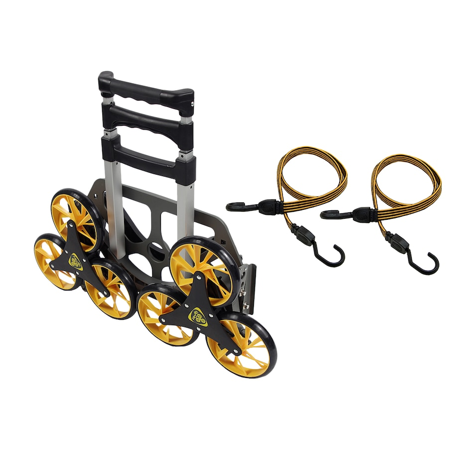 Image 552434.jpg , Product 552-434 / Price $89.99 , UpCart Original All-Terrain Stair-Climbing Folding Cart with 2-Pack Bungees from UpCart on TSC.ca's Home & Garden department