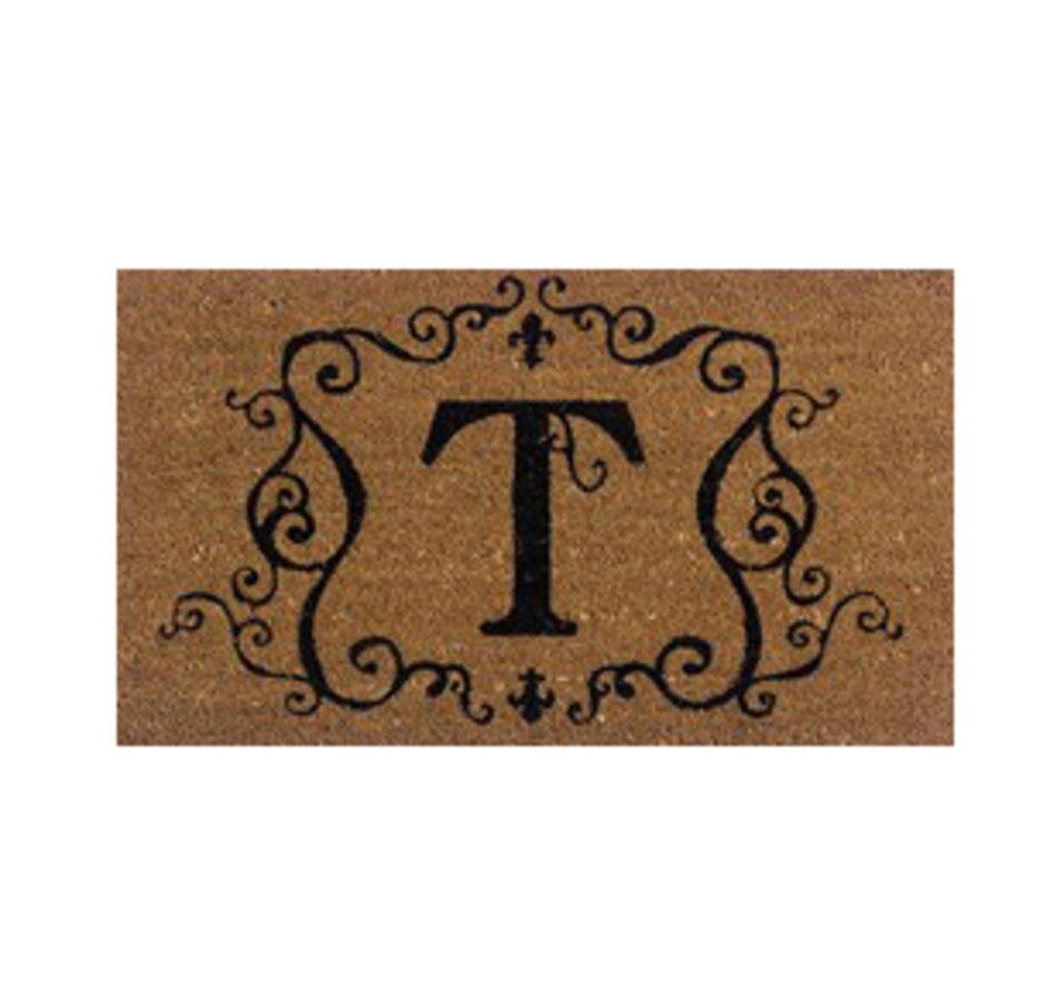 Image 552522_T.jpg , Product 552-522 / Price $14.88 , Monogrammed Coir Door Mat  on TSC.ca's Home & Garden department