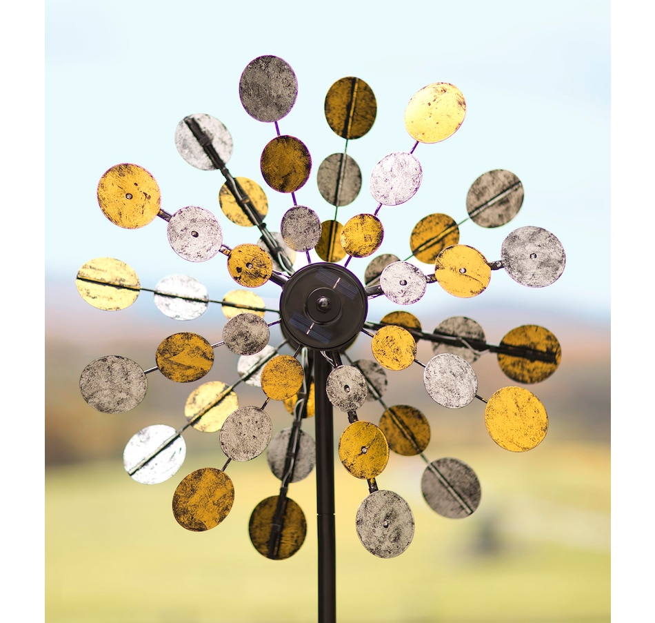 Image 552713_SPKLR.jpg , Product 552-713 / Price $89.33 , Solar Spinner from Plow & Hearth on TSC.ca's Home & Garden department