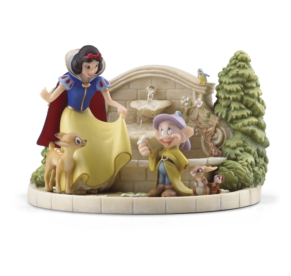 Image 552738.jpg , Product 552-738 / Price $199.99 , Snow White's Charming Garden Fountain Figurine from Lenox on TSC.ca's Home & Garden department
