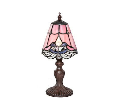 Home garden indoor lighting table lamps online shopping for product 552 791 price 5999 tiffany style 1225quoth crystal lace mini aloadofball Images