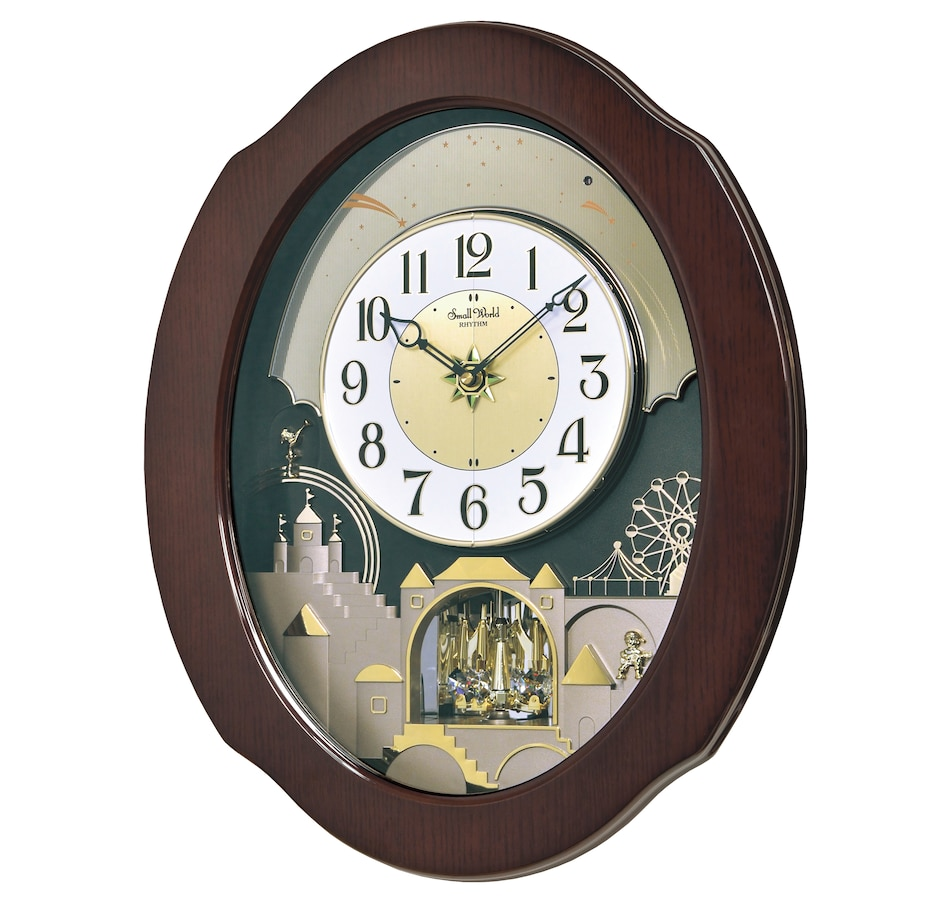 Image 552842_TCRKR.jpg , Product 552-842 / Price $449.88 , Rhythm Musical Motion Clock - Grand Series from Rhythm on TSC.ca's Home & Garden department