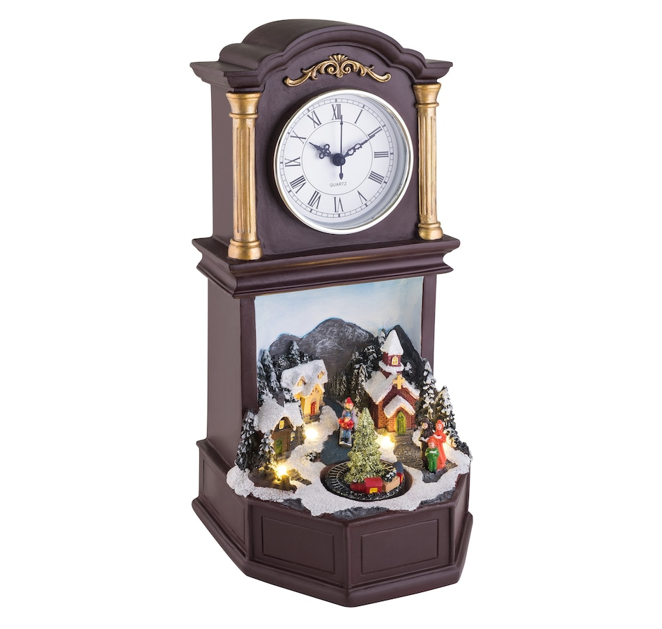 Image 552858.jpg , Product 552-858 / Price $39.99 , Mr. Christmas Holiday Musical Clock from Mr. Christmas on TSC.ca's Home & Garden department