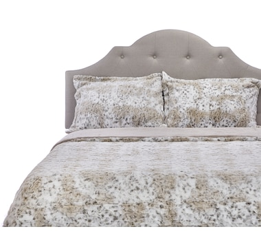 Guillaume 3-Piece Faux-Fur Comforter Set