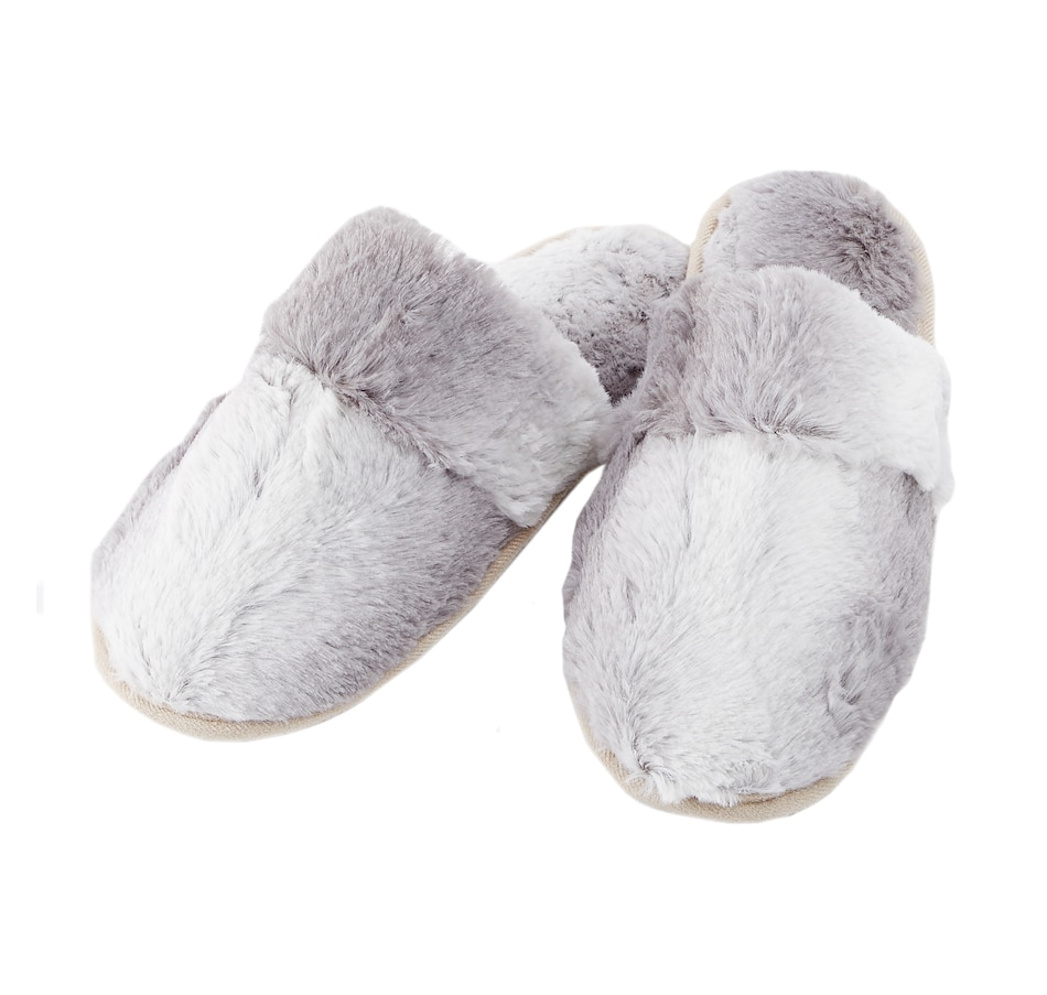 Image 553236_SIL.jpg , Product 553-236 / Price $24.88 , Guillaume Women's Faux Fur Slipper from Guillaume on TSC.ca's Home & Garden department