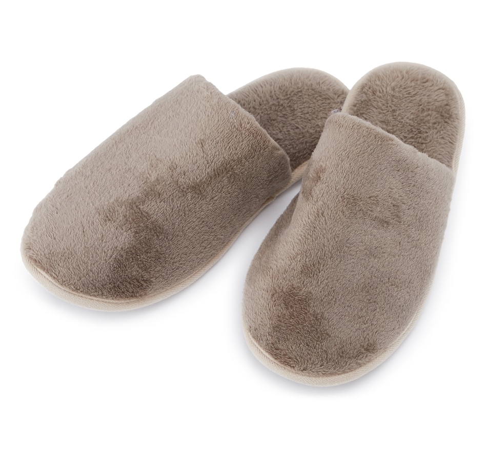 Image 553240_TPE.jpg , Product 553-240 / Price $34.99 , Guillaume Men's Micro Mink Slippers from Guillaume Home on TSC.ca's Home & Garden department