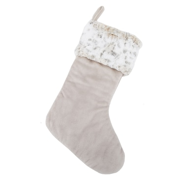 Guillaume Faux Fur Holiday Stocking