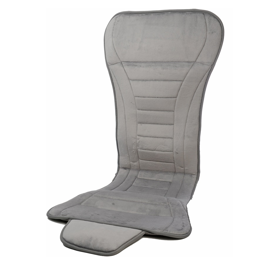 Image 553276_GRY.jpg , Product 553-276 / Price $66.88 , Tony Little DeStress Airflex Full Back Seat Cover 2-Pack from Tony Little on TSC.ca's Health & Fitness department