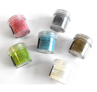 Anna Griffin Treasury Embossing Powders