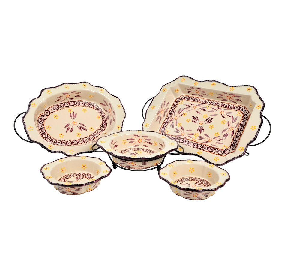 Image 553311_OWEGG.jpg , Product 553-311 / Price $82.99 , temp-tations 8-Piece Framed Edge Baker Set from Temp-tations on TSC.ca's Kitchen department