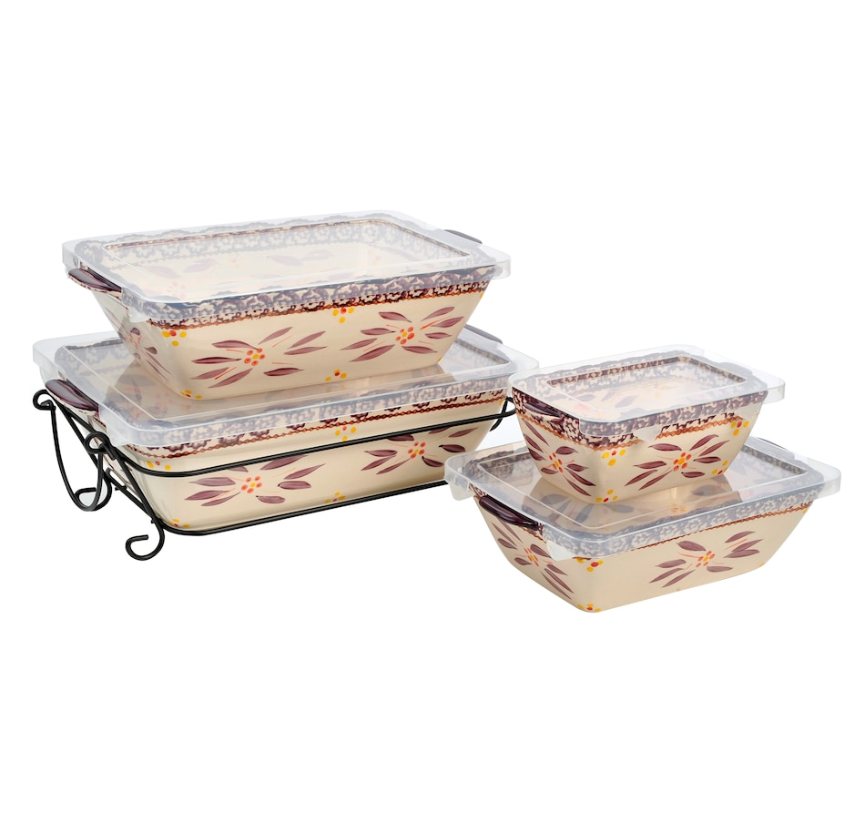 Image 553313_OWEGG.jpg , Product 553-313 / Price $46.88 , temp-tations Nested Bakers - Set of 4 from Temp-tations on TSC.ca's Kitchen department