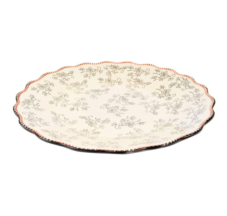 Image 553321_FLBLK.jpg , Product 553-321 / Price $44.99 , temp-tations Elevated Platter from temp-tations on TSC.ca's Kitchen department